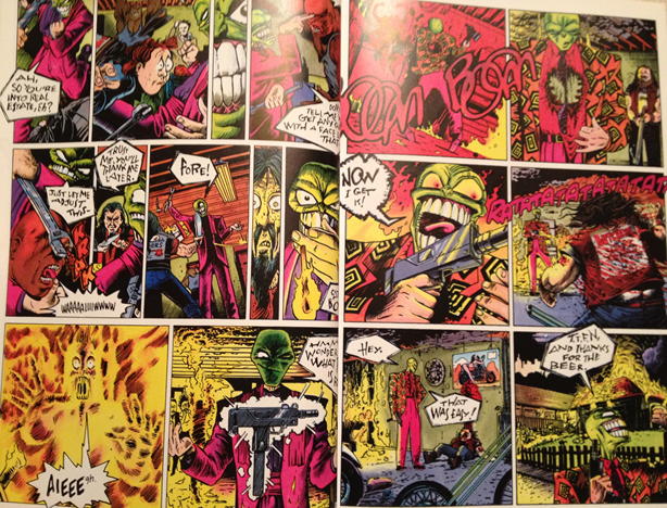 Original Stanley Ipkiss character in Dark Horse Comics' The Mask