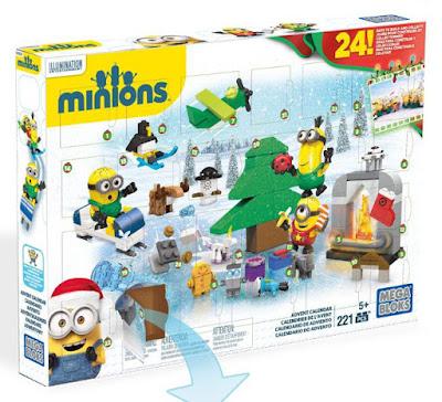 TOYS : JUGUETES - MEGA BLOKS Minions  Calendario de Adviento | Advent Calendar | Navidad  Producto Oficial Película 2015 | Piezas: 221 | Edad: +5 años  Comprar en Amazon España & buy Amazon USA