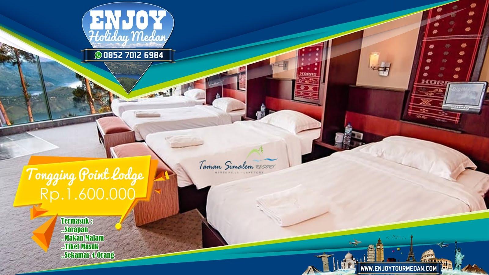 Promo Tongging Point Lodge Taman Simalem Resort