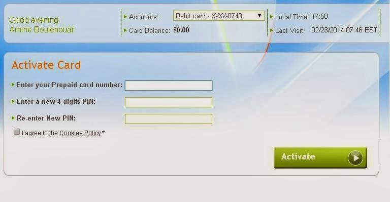 تفعيل بطاقة payoneer