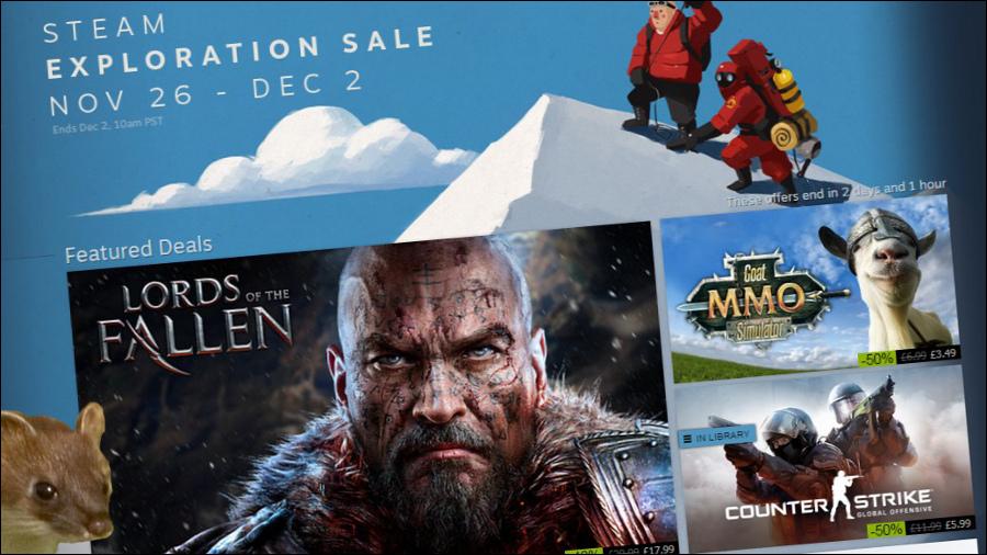 Promoções da Steam começaram, lê as nossas recomendações