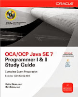 OCA OCP Java Certification Books