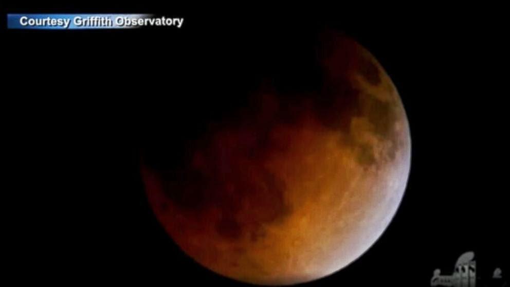 Timelapse Gerhana Bulan Berdarah 8 Oktober 2014