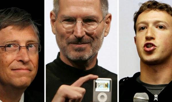 11 Multimillonarios que abandonaron la Universidad para Crear Empresas de Tecnología