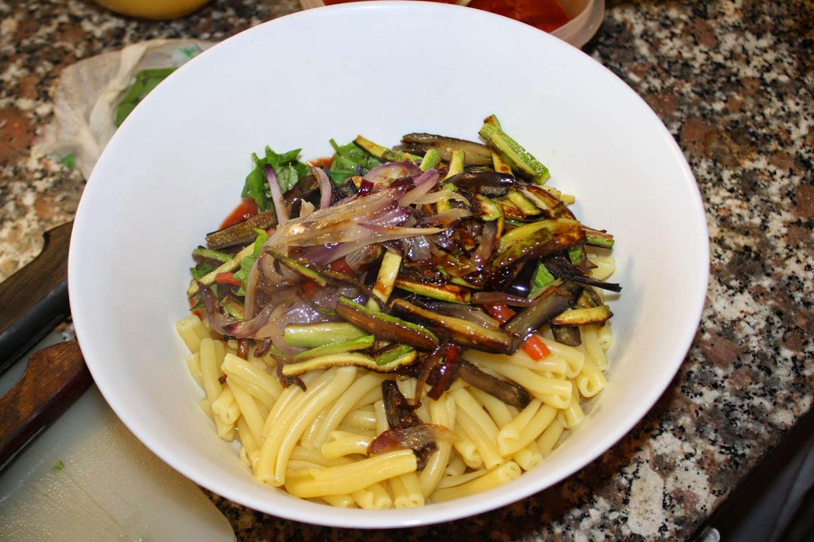 ricetta pasta alle verdure