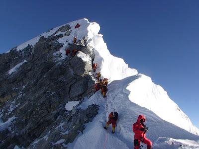 Gunung Everest, Memacu Adrenalin Dengan Camping Di Puncak Tertinggi Di Dunia