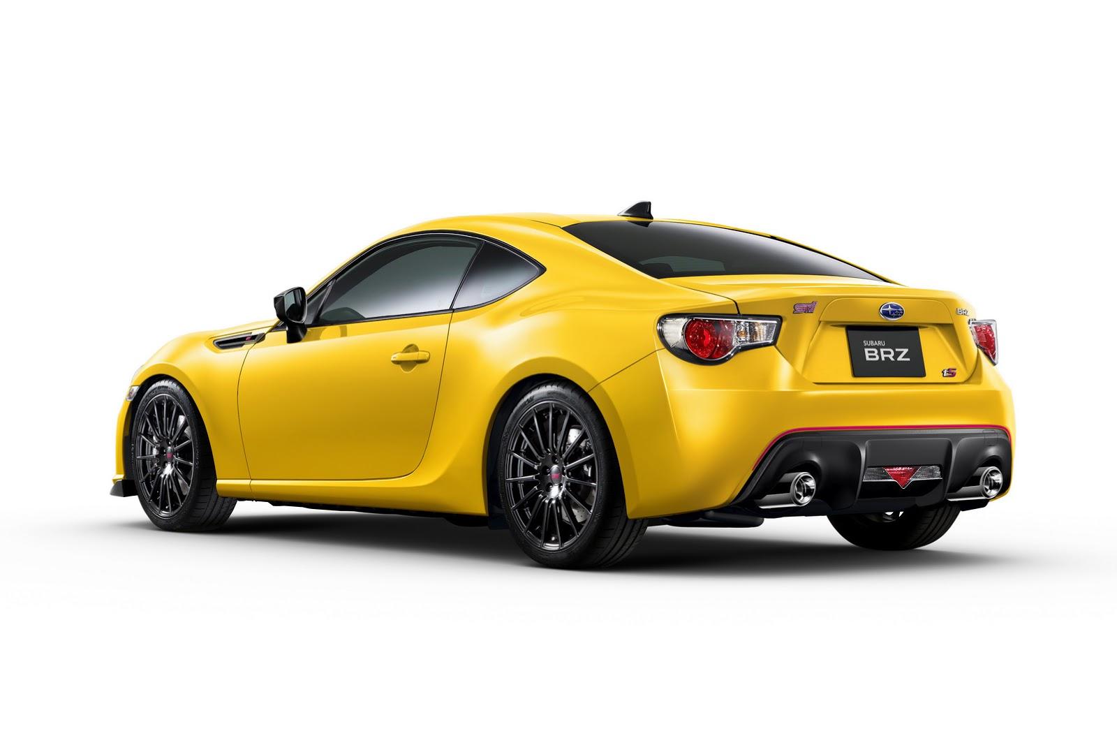 Japan Gets New 2015 Subaru BRZ tS By STI | Carscoops