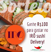 sorteio irô sushi delivery