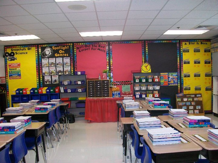 Hollywood Classroom Decor ~ Clutter free classroom hollywood theme classrooms
