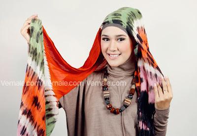 Tutorial Hijab Gaya Turban Etnik