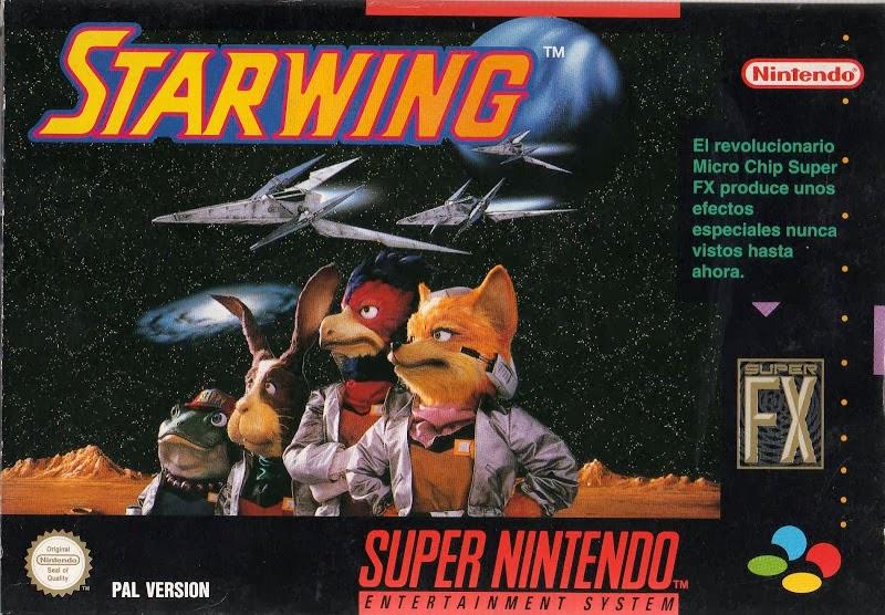 Tu videojuego preferido Starfox