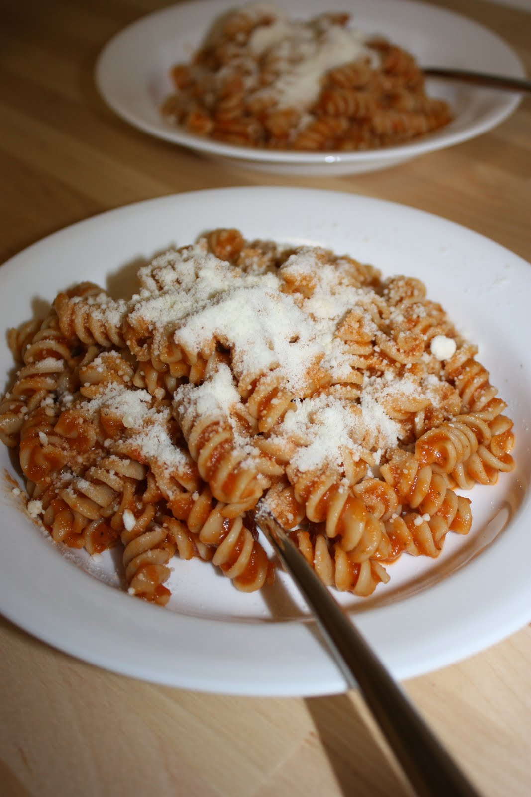 how to make a healthy tomato pasta sauce