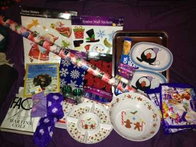 poundland christmas goodies