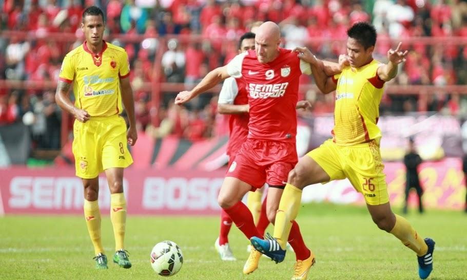 Sriwijaya FC Tahan Imbang PSM Makassar 3-3