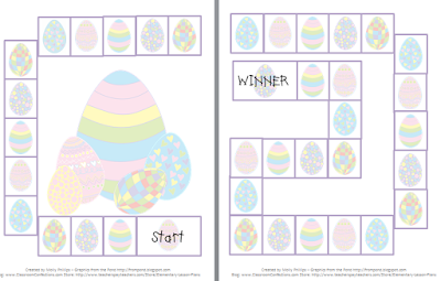 Free Resources: Easter Game Board