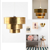 le très chic brass pendant light... you're going to want one of these!