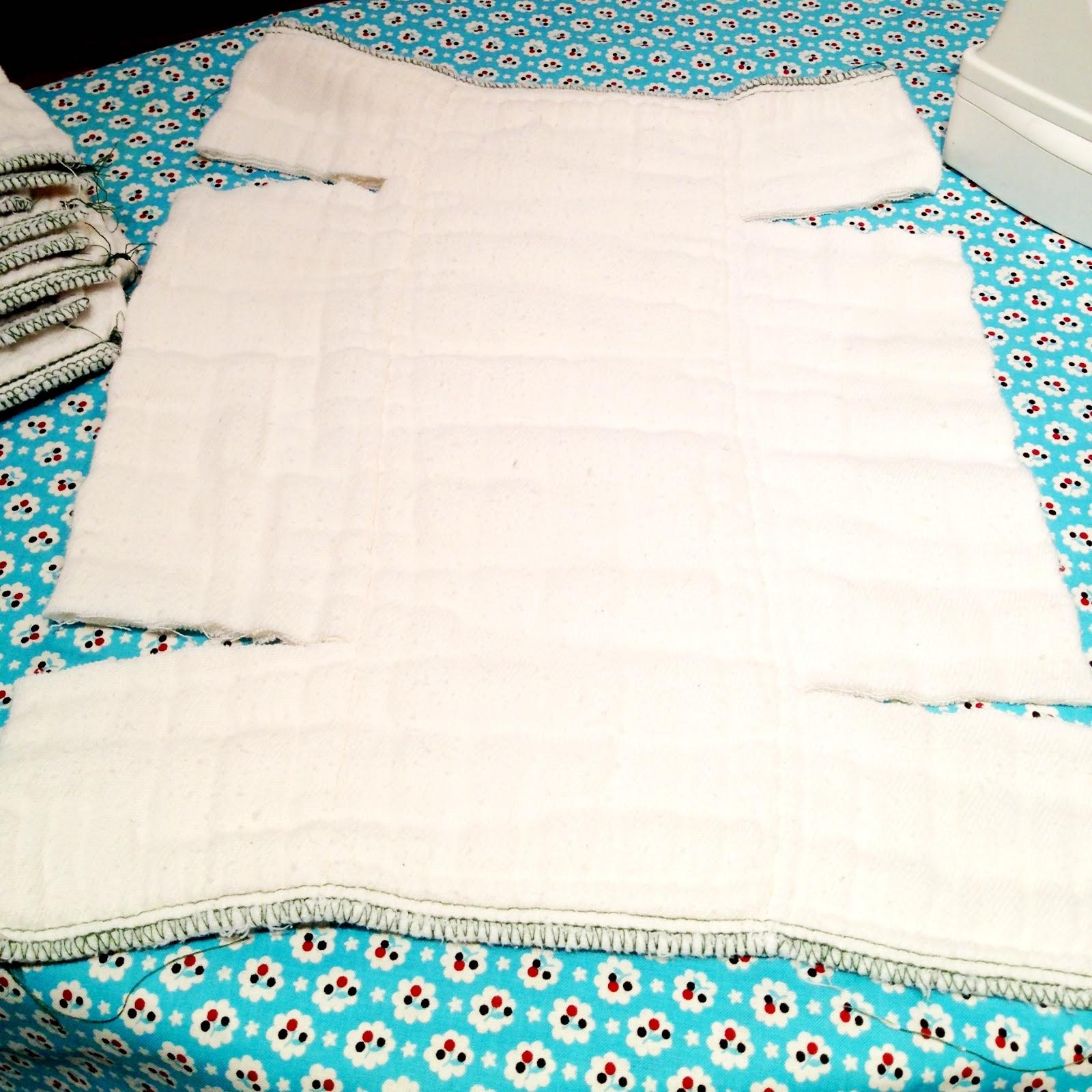 Как сшить подгузники из марли для новорожденных своими руками? 1