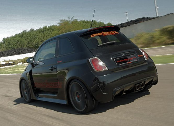 Sport car garage fiat 500 abarth venom 2013 for Garage fiat 500