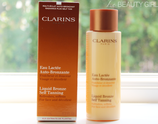 clarins liquid bronze