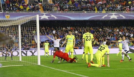 Valencia 2 x 1 Gent - Champions League 2015/16