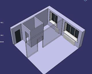 Схема квартиры до ремонта