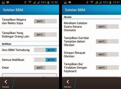 Cara Menghemat Penggunaan RAM Oleh Aplikasi BBM Android