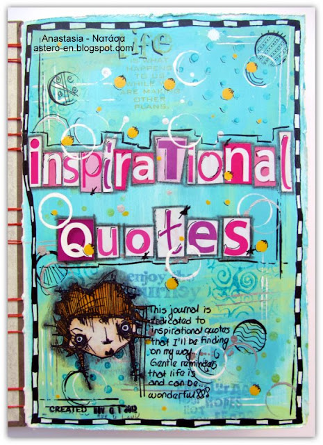 astero 39 s crafty world art journal book for inspirational