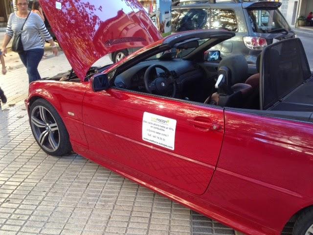 Transformación a Autogas / GLP BMW 320 cabrio