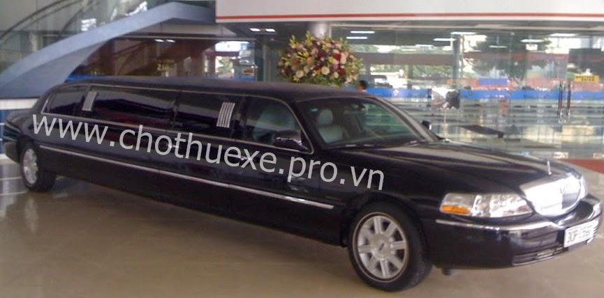 Cho thuê siêu xe Limousine Lincoln 1