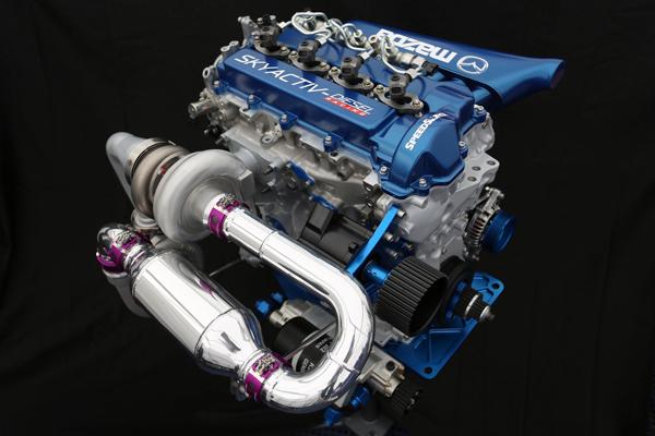 motor diésel SKYACTIV-D