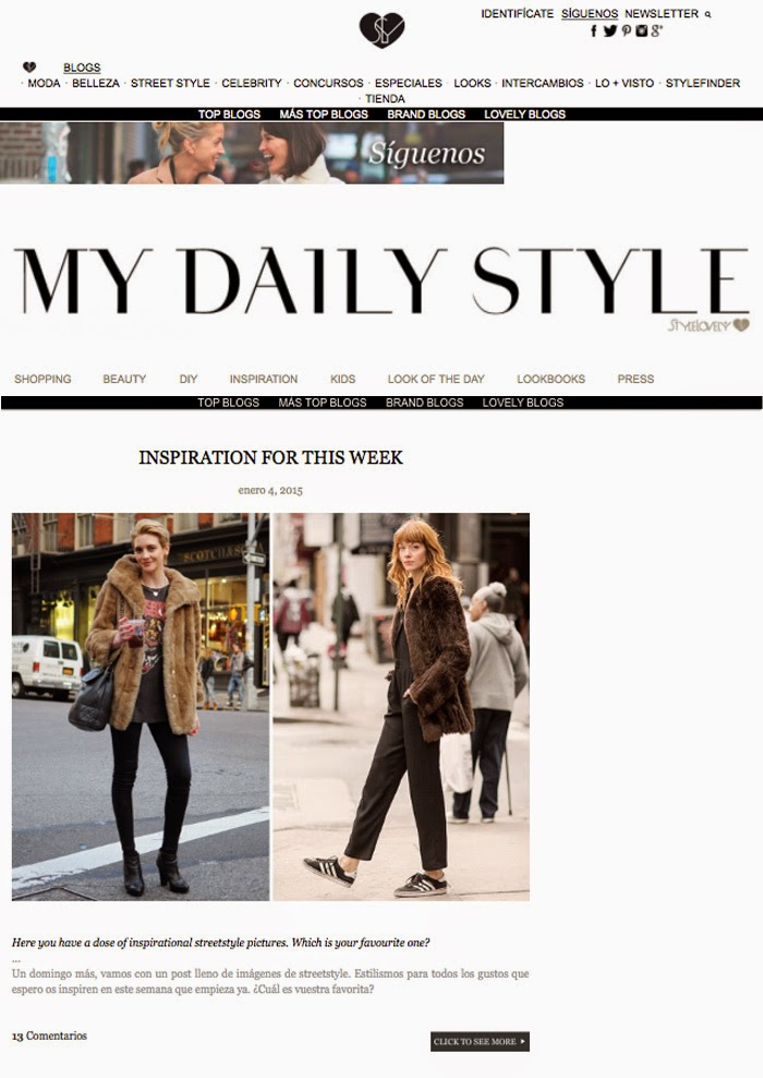 Blog mode Espagne