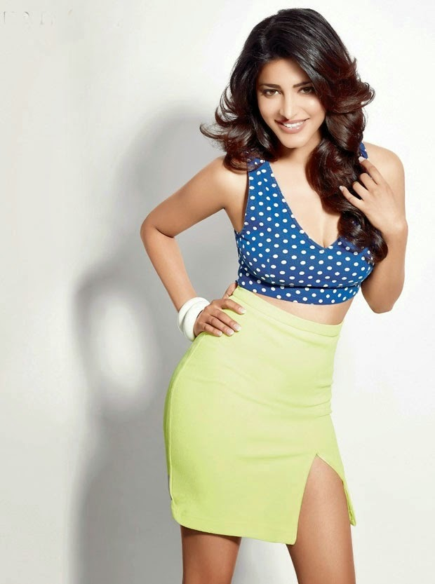 Shruthi Hassan Latest Hot Photo Shoot | Women Health Magazine