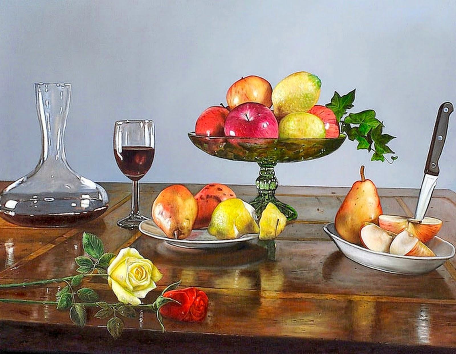 hiperrealismo-al-maximo-de-bodegones-con-frutas