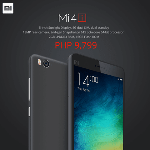 Xiaomi Mi 4i Gets Introduced Locally, Priced at P9,799