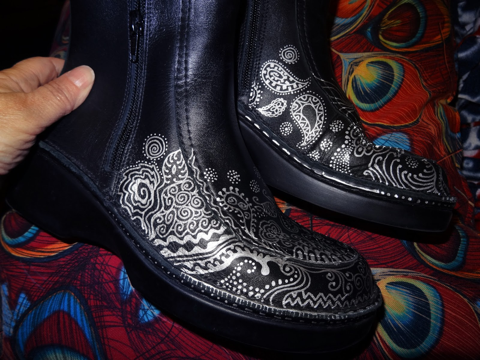 Sharpie Shoes Leather