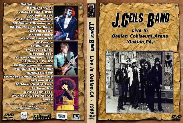 Mediafireconcertth j geils band 1980 live in oaklan ca
