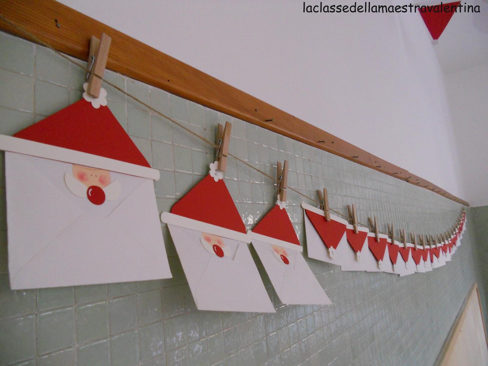 La classe della maestra valentina la mia classe di natale - Finestre di natale ...