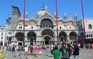 Benátky námestie Svetého Marka