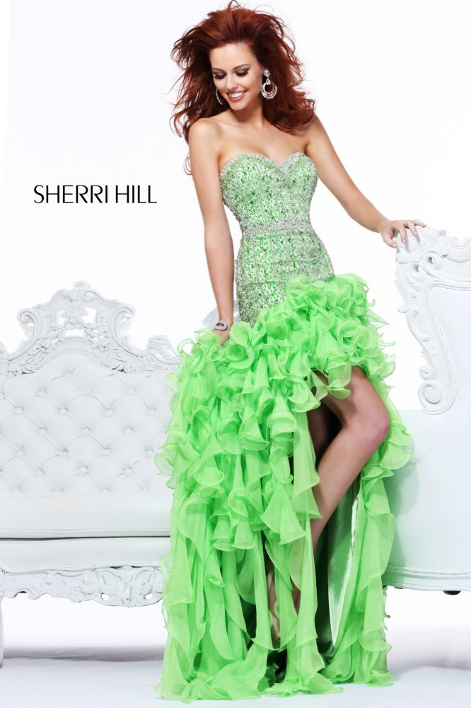 Lime Green Chiffon A Line Knee Length Partydress Bridal Gown Bridesmaid Dresses Sashes Sun Skirt Xs S M L Xl In Stock