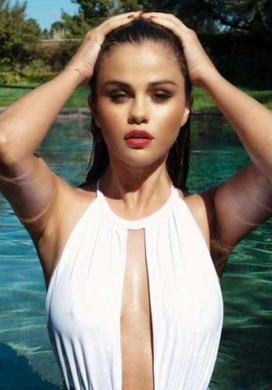 Selena Gomez in Swimsuit – Instagram