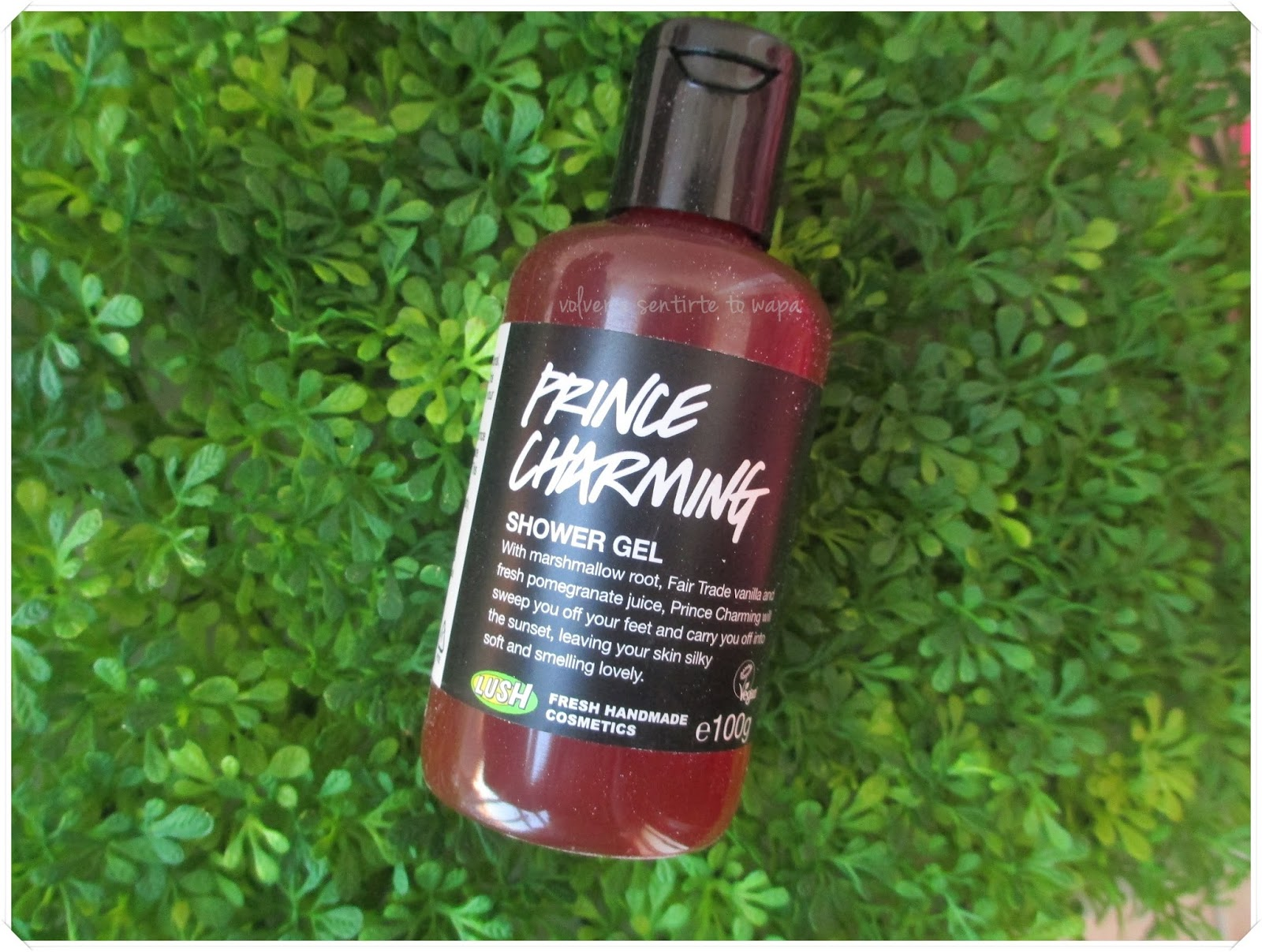 LOTS OF LOVE de LUSH - Gel Princess Charming