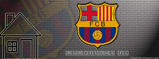 Barcelona FC Facebook Cover Cream Brick