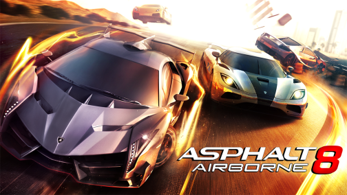 Asphalt 8: Airborne 1.2.1 Mod Apk+Data (Sınırsız Para)