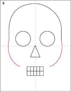 skull step by step