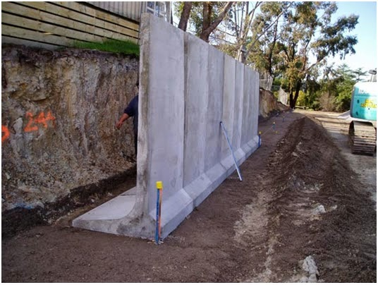 Reinforced Concrete Cantilever Retaining Wall Pictures to
