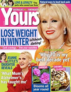 Published in Yours Magazine Issue 16 2016 - 'What Mum's Alzheimer's Has Taught Me'