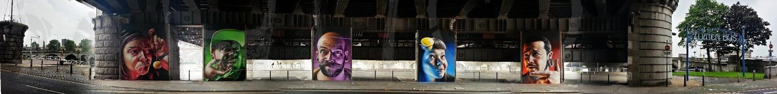 Heads yoyo, Broomielaw, Clyde Viaduct, Glasgow