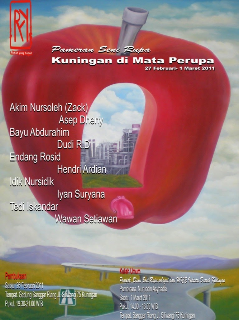 Fine art Exhibition: Kuningan on a view of Painter