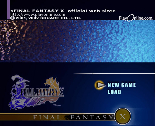 Final Fantasy X title screen