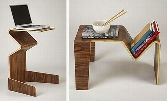 15- طاولة بإرتفاعين مختلفين و تصميم عصري أنيق تصلح لأغراض متعددة